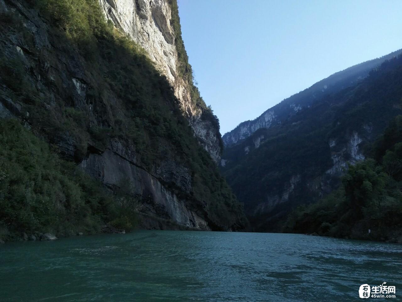 【城景】大家都觉得这是巫山小三峡的风景,其实这就是