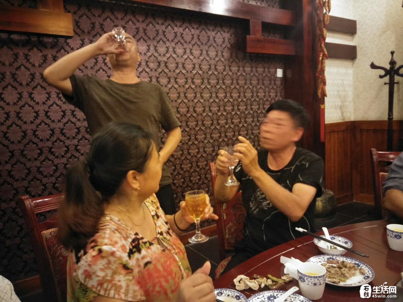 教师节来临万寿古寨的一次谢师宴
