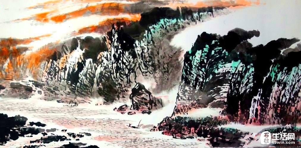 敬之中篇励志小说《大江滔滔》连载之第三十四章  商海搏浪